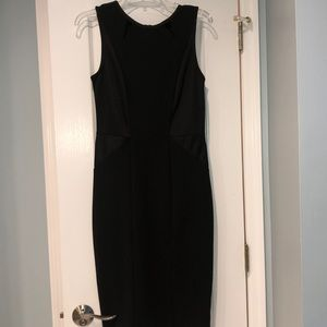 Tight fitted black dress